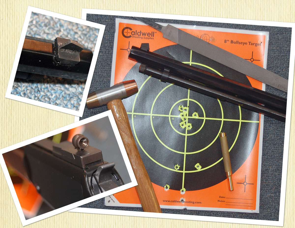 Just installed Skinner Receiver Sight on Henry H001T - Ruger Forum